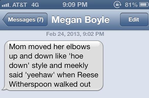 text from megan boyle