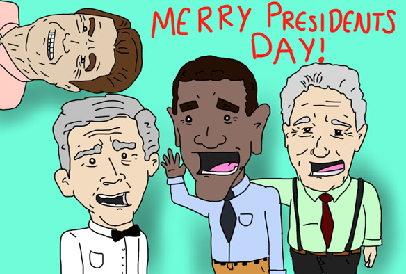 Merry Presidents Day!