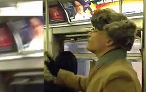 Gay Man Confronts Homophobic Preacher On Subway And PassengersApplaud
