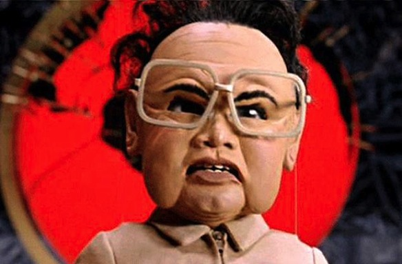 "Kim Jong-Il (as portrayed in ""Team America: World Police"")"