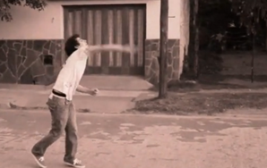 Watch As Men Awkwardly Throw Rocks With Their Non-Dominant Hands