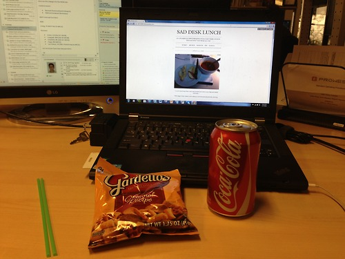 New Tumblr For Posting The Depressing Lunch You Brought To Work Today