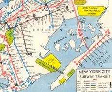70 subway map