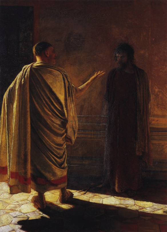 Christ and Pilate, Nikolai Nikolaevich Ge