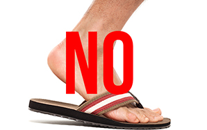 I Don't Understand Why White People Love Flip Flops SoMuch