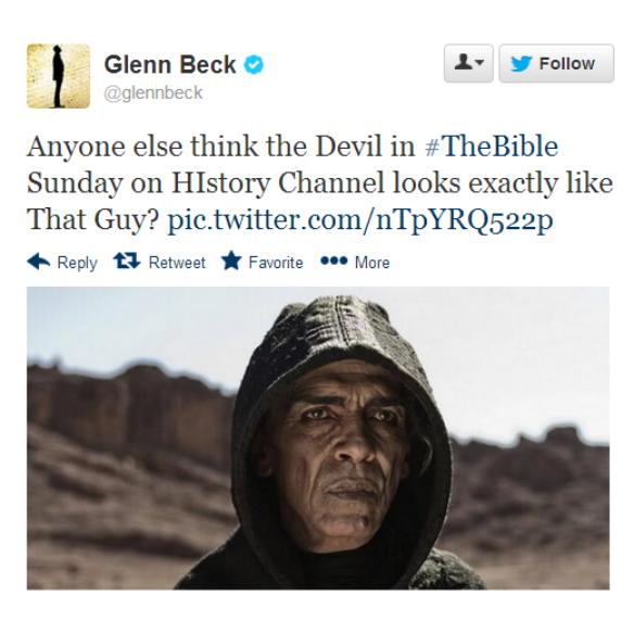 glennbeck- Anyone else think the Devil ...