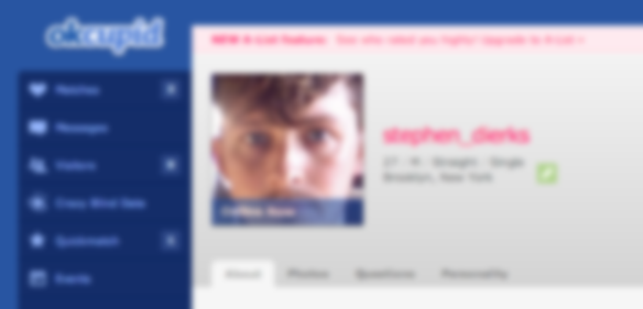 OkCupid Is Riddled With Psychos, And I'm One Of Them