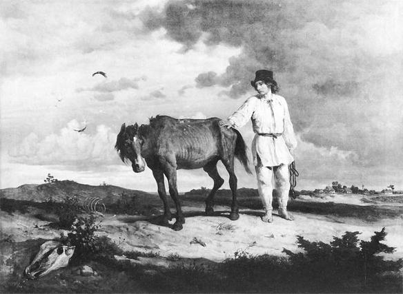 """""""Pożegnanie z koniem,"""" Wojciech Gerson"""