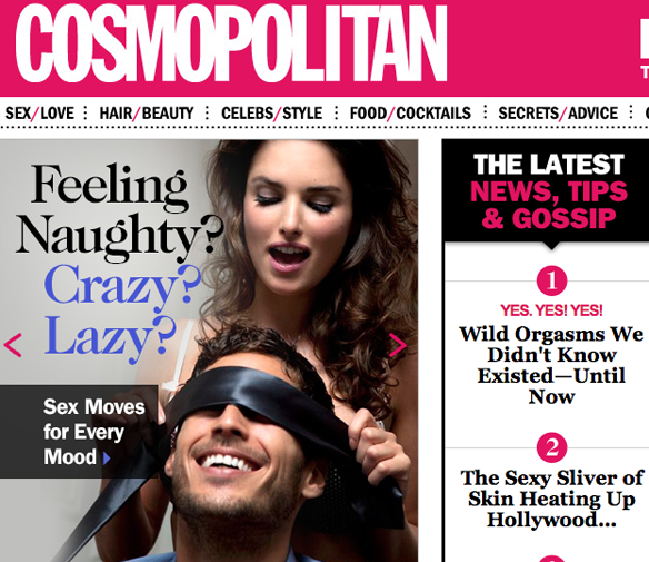 Suggested Cosmo Headlines