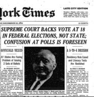 nyt 1970 vote at 18