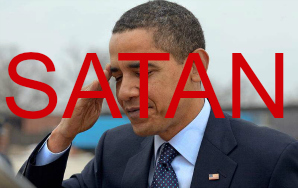 Obama Is The Devil, But You Knew That Already