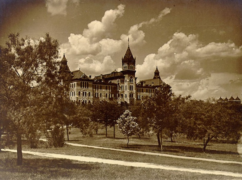 The Old Main Building at The University of Texas at Austin in 1903
