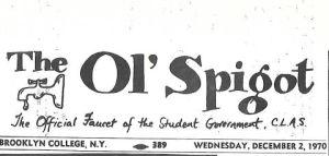 the ol' spigot
