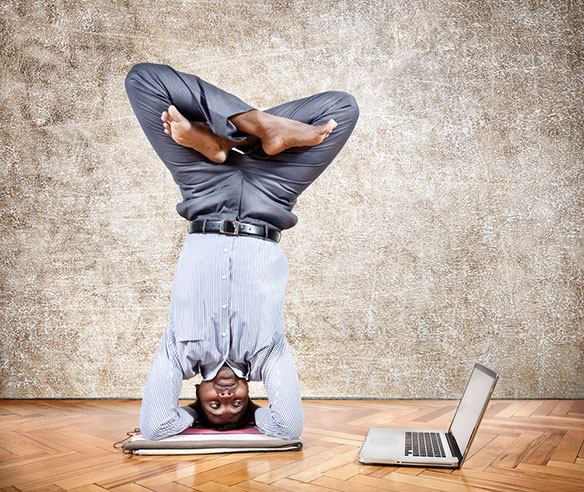 (Turning upside down physically could help also.) / Shutterstock