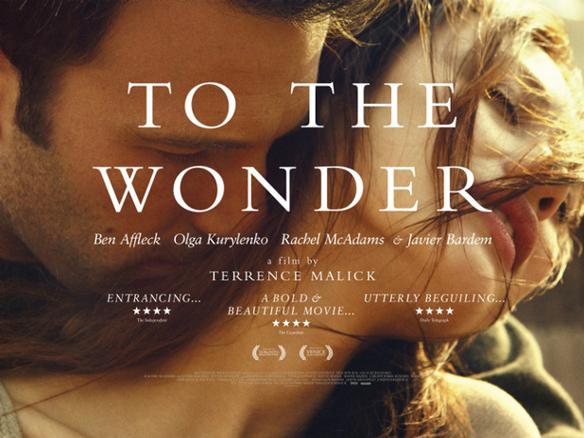 To The Wonder (Watch While It's In Theaters)