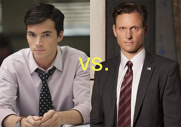 Fitz on Pretty Little Liars vs. Fitz on Scandal