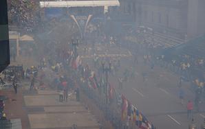 Rushing And Blank: The MarathonBombing