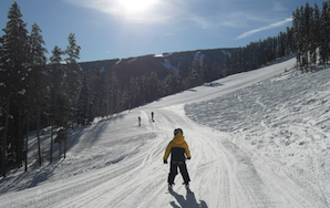 When A Runner With No Money Learns To Ski