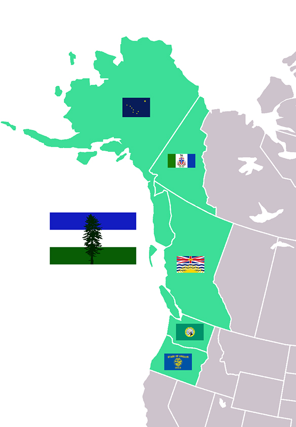 Cascadia-flags
