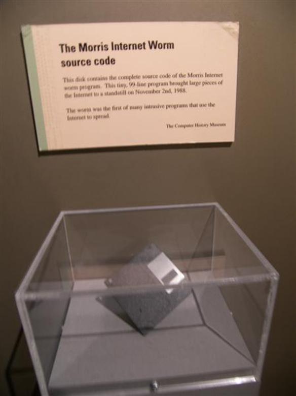 Museum of Science - Morris Internet Worm