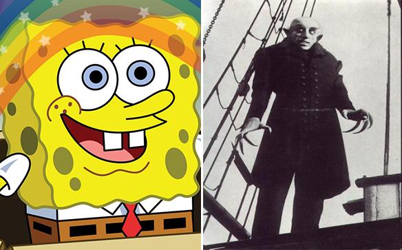 Spongebob / Nosferatu