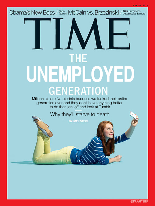 Here's A Different Take On The TIME Magazine Cover About Millenials