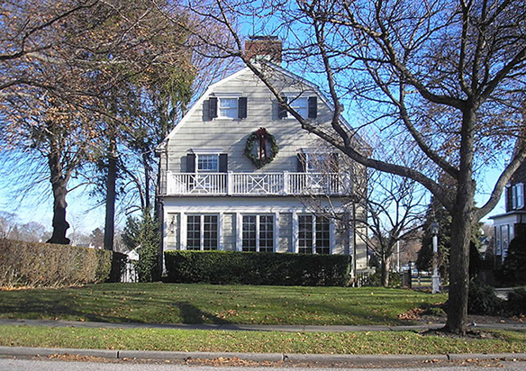 The house from the film The Amityville Horror, built circa 1924