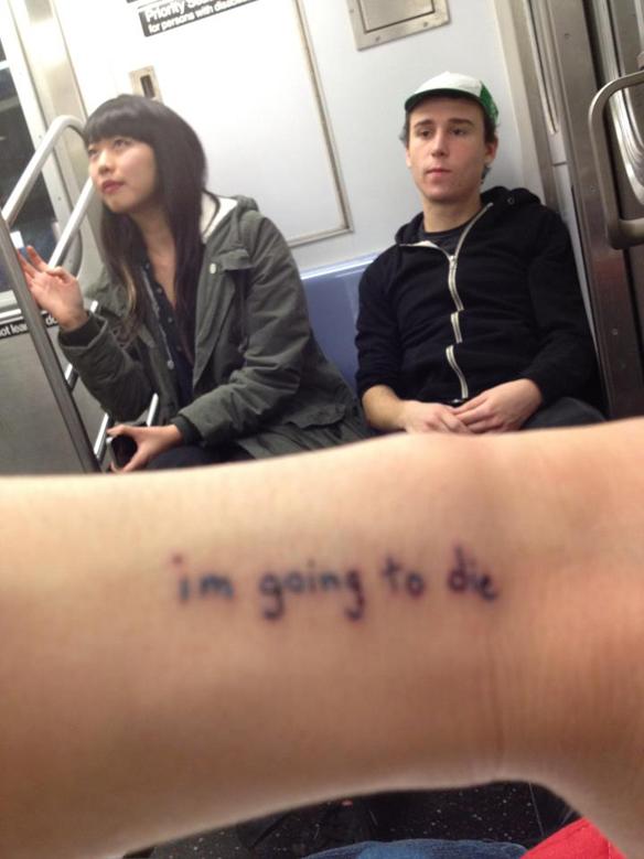 im going to die
