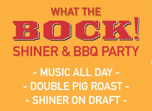 Celebrate Shiner In NY This Saturday With A Free BBQ And BeerFest