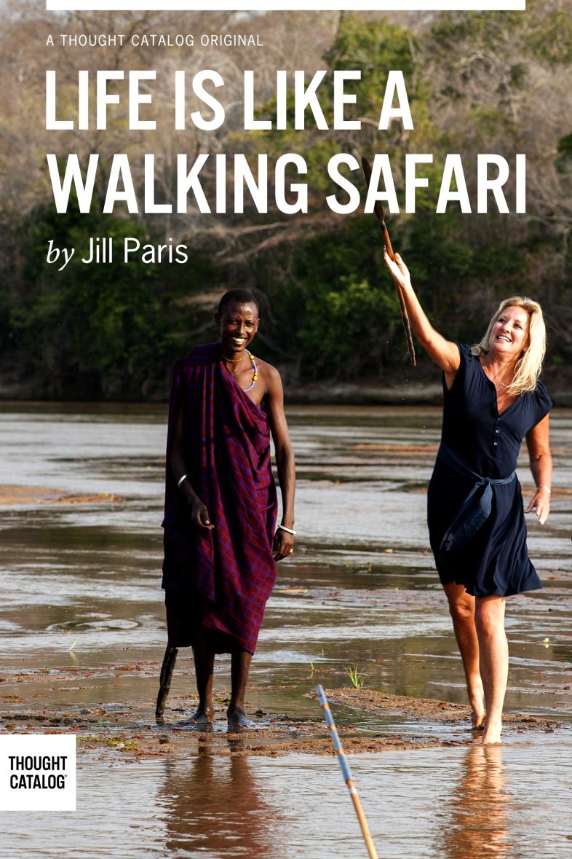 Life is Like a Walking Safari–2
