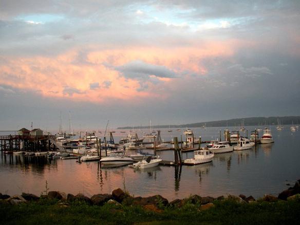 photo of Rockland, Maine courtesy of Rebecca Stuart