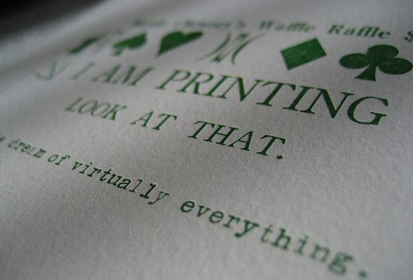 Premium authenticity. http://www.flickr.com/photos/kathryn_rotondo/2258367736/sizes/z/in/photostream/