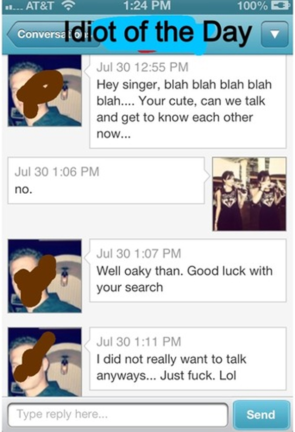 15 Ways NOT To Start A Conversation On Online Dating Sites