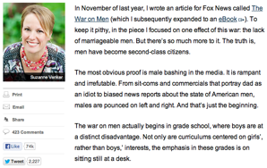 What My Life Is Like As A Man, According to FoxNews