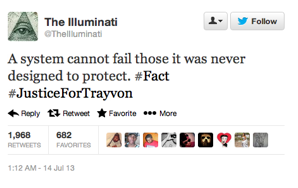 If We Want #JusticeForTrayvon, We Need To Stand Up To TheSystem