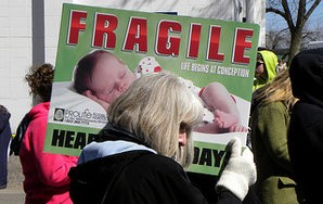 The 4 Types Of Protesters You Meet At An AbortionClinic