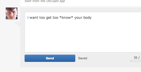 More OkCupid Messages That Diminish My Faith In Love And Humanity