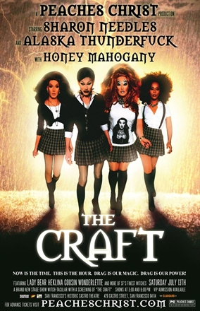 Promotional poster, The Craft stage show