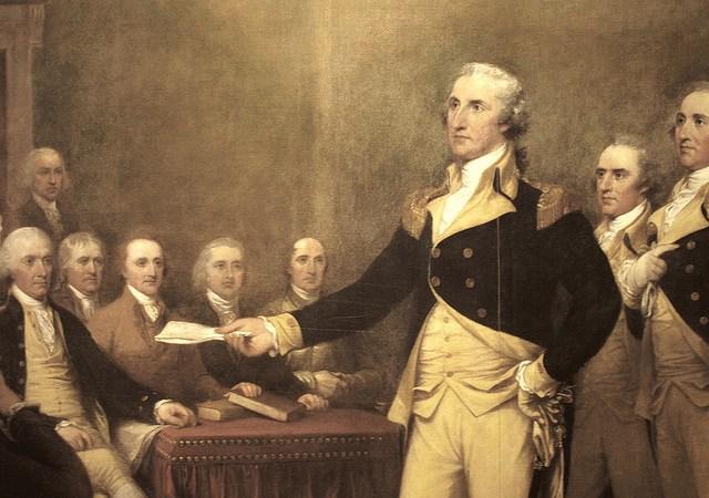 George Washington Addressing The Nation OnSyria