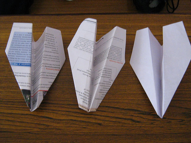 """""""Oh God, Tori, I love you. Please take these airplanes as a token of my love for you. I made these...for you..."""" image - vivekkhurana"""