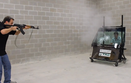 Watch This Guy Shoot At His Boss With With An AK-47