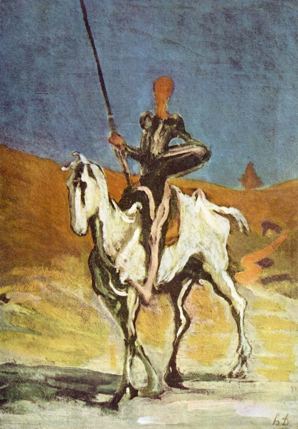 Dignity exists at the precise juncture of the private and the public. It's not enough to believe you're dignified: dignity comes from how you stand within the social. Quixote for instance imagines himself dignified but is, alas, a fool.