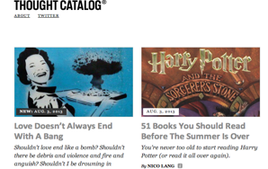 How We Can Create The Thought Catalog WeLove