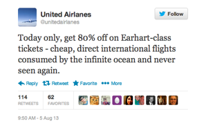 29 Tweets From A Fake United Airlines Account That Will Make You Laugh Yourself Silly