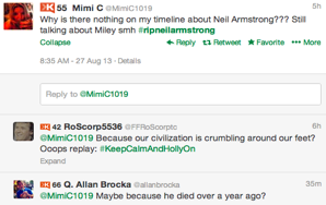 The 30 Best Tributes To Neil Armstrong On Twitter, One Year After His Actual Death