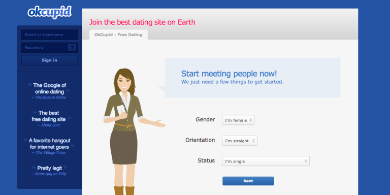 8 Thoughts I Had While Spending Friday Night Surfing OKCupid In TheDark
