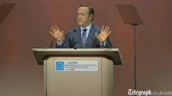 "Kevin Spacey, AKA The Man: ""TV Channels Need To Give The People What They Want"""