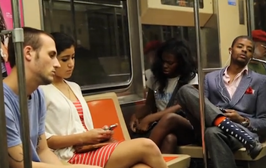 """""""Panhandler"""" Pranks Entire Subway Car With His Painful Story"""