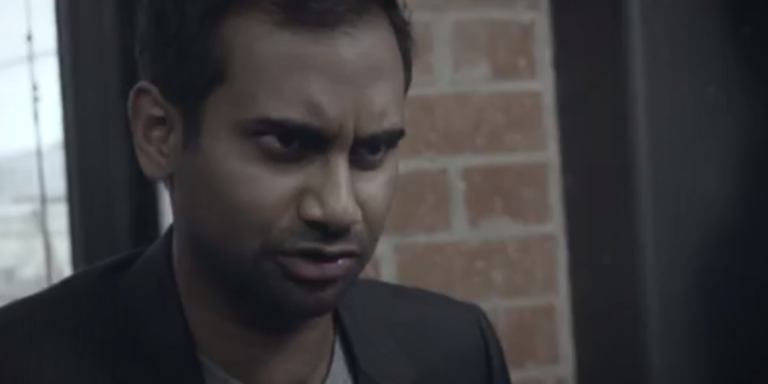 Aziz Ansari Made A Very Funny Video To Promote His New StandupSpecial