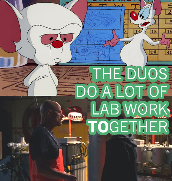 Here Are Some Magnificent Similarities Between Breaking Bad & Pinky And The Brain